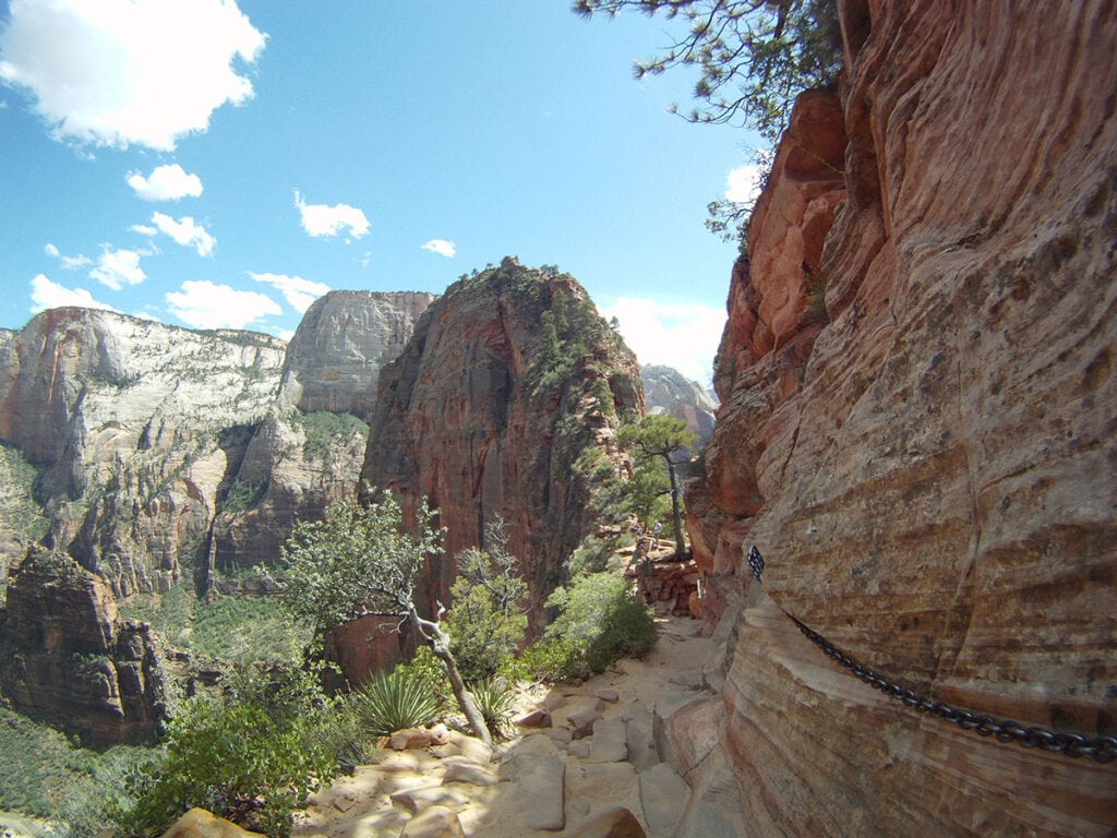 Angels Landing / Plan your trip to Zion with this Zion National Park travel guide, with info on Zion's campgrounds, must-do trails, permits, park shuttle & more.