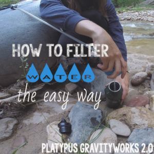 Platypus Gravityworks water filter review