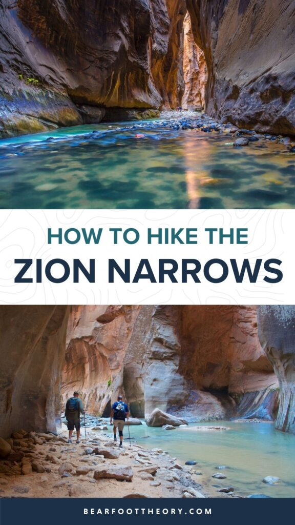 Hiking the Zion Narrows is one of the best adventures in Zion National Park. Learn how to get a permit, book a shuttle to the start & more.