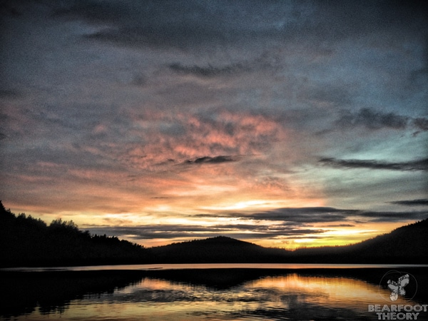 Moran-State-park-sunset
