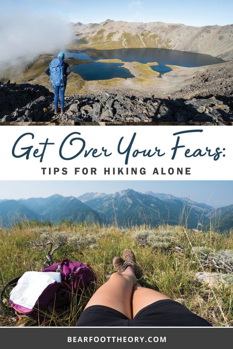 Have you let your fear of hiking alone keep you indoors? Well its time to tackle those fears. Here's 5 tips for staying safe on your first solo hike.