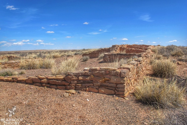 Petrified-Forest-National-Park-Pueblo