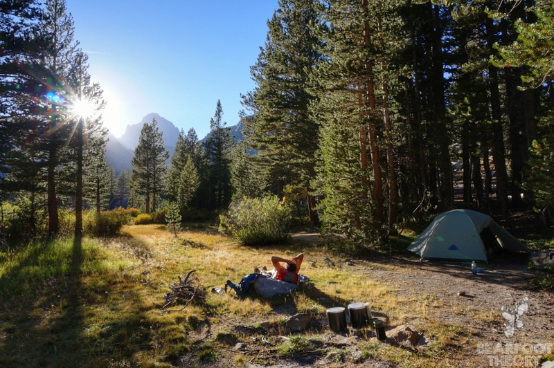Lake-Ediza Junction-camp
