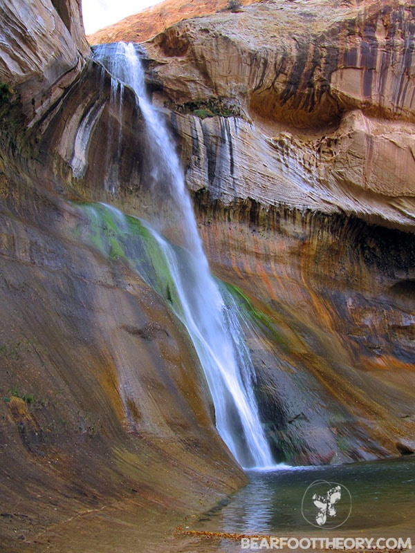 Calf Creek Falls // Explore Utah National Parks in this 10-day road trip itinerary w/ the best hikes, activities & camping in Zion, Bryce, Capitol Reef, Arches & Canyonlands.