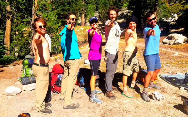 John Muir Trail crew