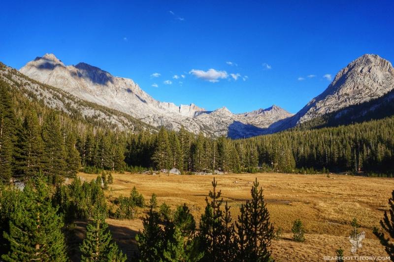 John Muir Trail McClure Meadow