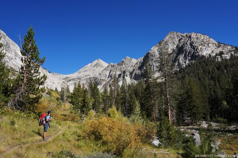 John Muir Trail Kings Canyon