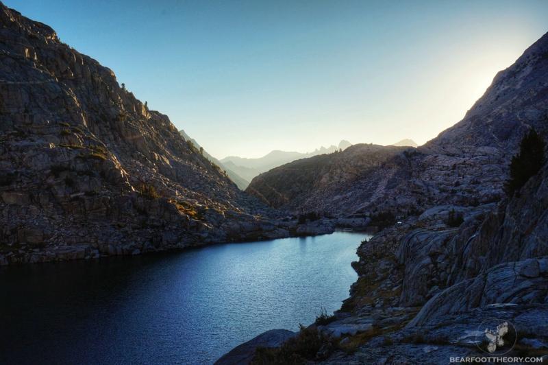 John Muir Trail Palisade Lake