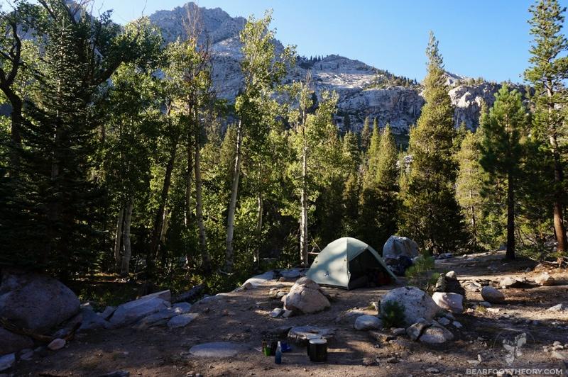 John Muir Trail - Woods Creek