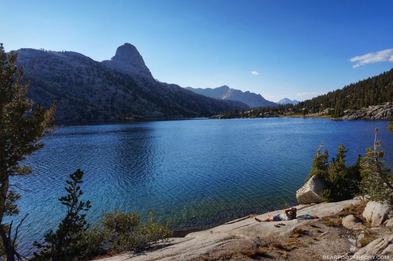 John Muir Trail - Rae Lakes