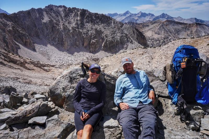 John Muir Trail - Glen Pass