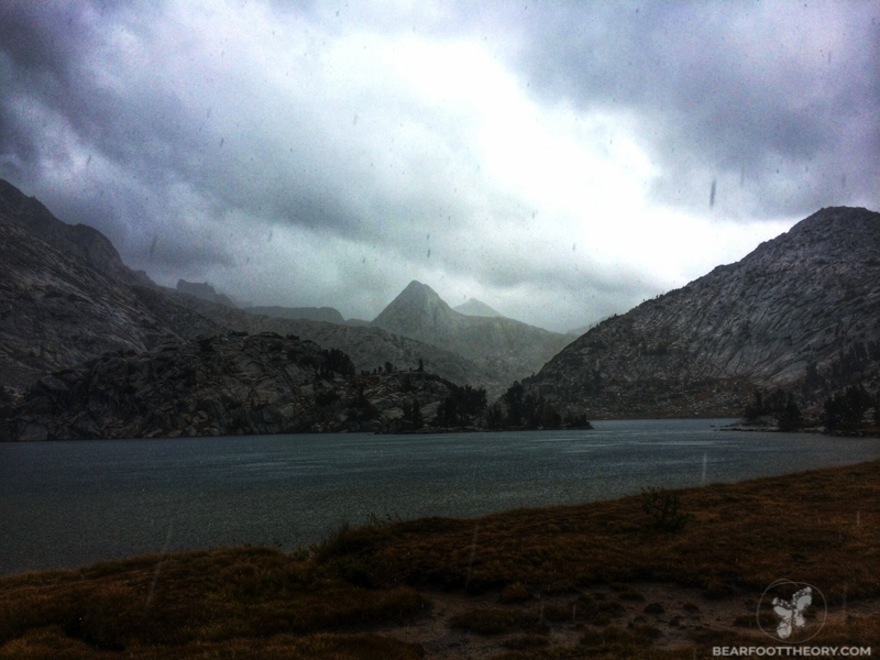John Muir Trail Evolution Basin