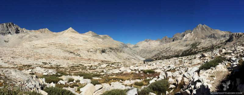 John Muir Trail Mather Pass