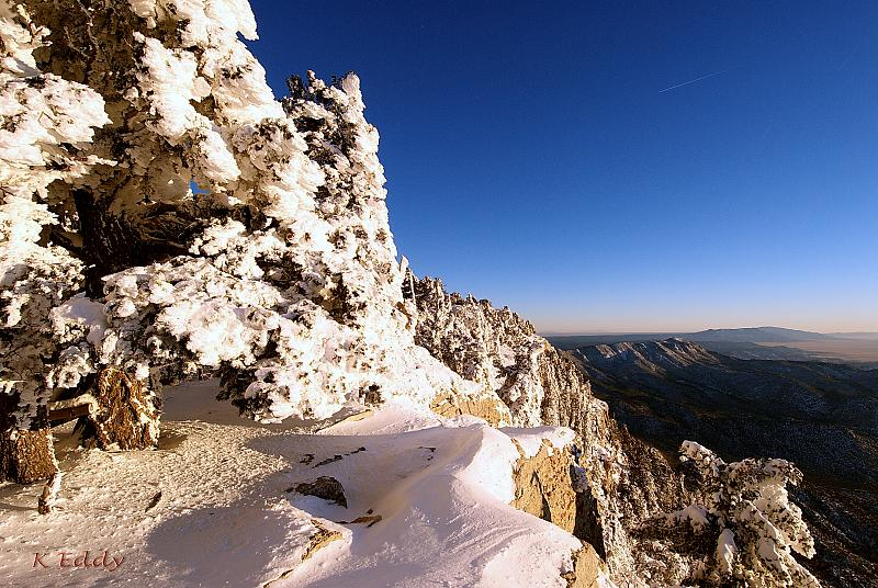 best-snowshoeing-destinations-sandia-crest-newmexico