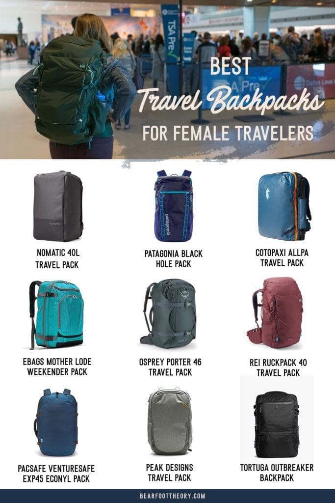 Here are the best travel backpacks for women in 2021 so you can pack light, get organized, and be more flexible on your travels.