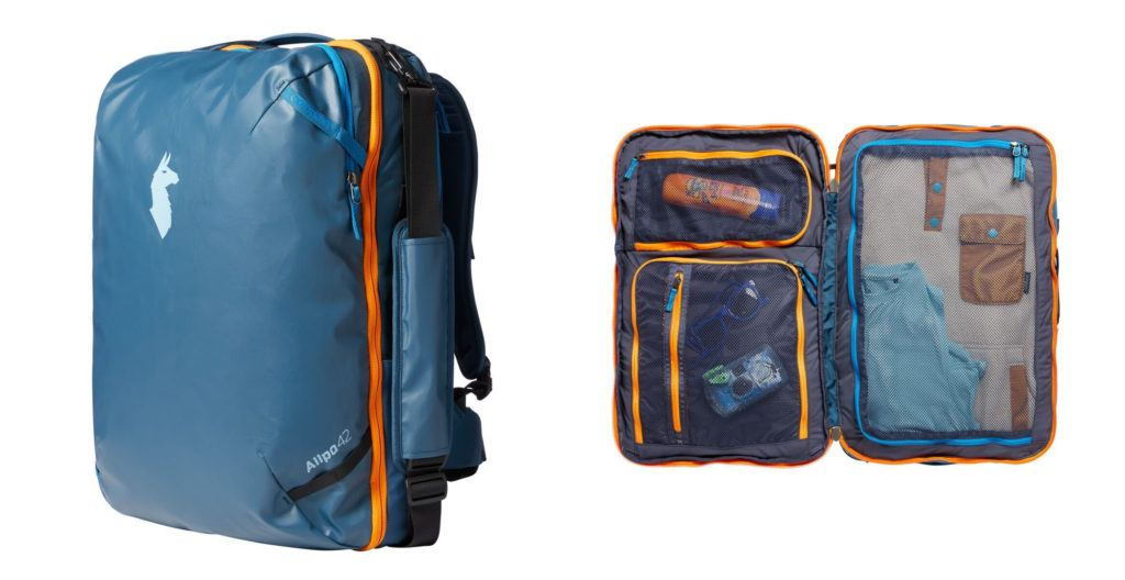 The Cotopaxi Allpa Travel Backpack makes the list of the best travel backpacks for women in 2020.