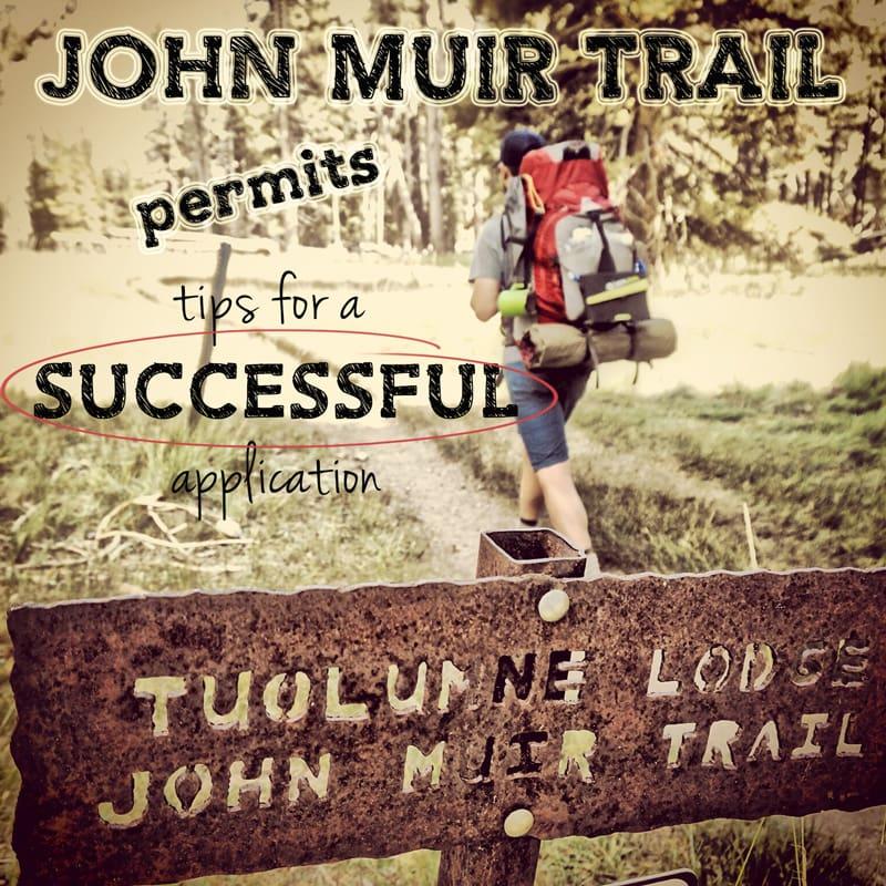 John Muir Trail permit process