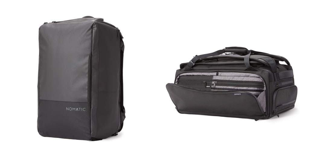 Nomatic 40 liter travel pack // Sick of lugging around unorganized & bulky luggage on your travels? Here are the 7 best travel backpacks on the market for easy packing and happy traveling.