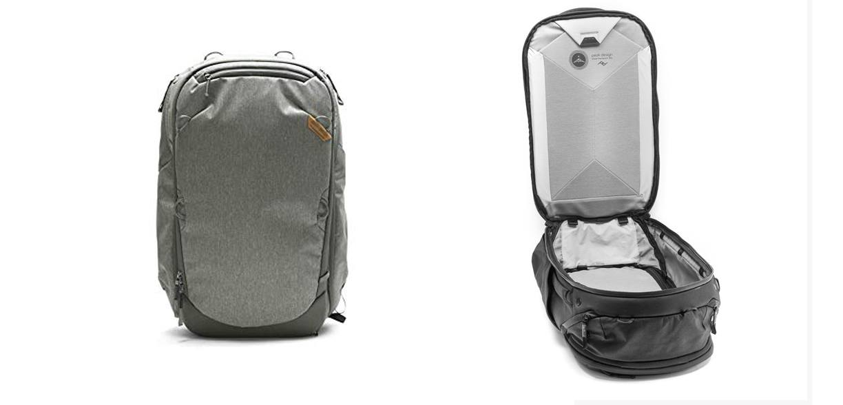 Peak Design Travel Pack // Here are the best travel backpacks for women in 2021 so you can pack light, get organized, and be more flexible on your travels.
