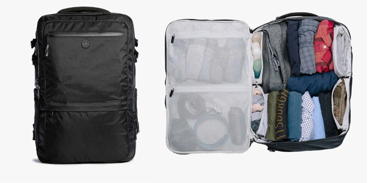 Tortuga Outbreak Pack // A highly organized travel backpack for adventurous women