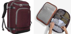 The eBags MotherLode Travel Backpack is a budget-friendly travel backpack perfect for adventurous women who want to carry-on