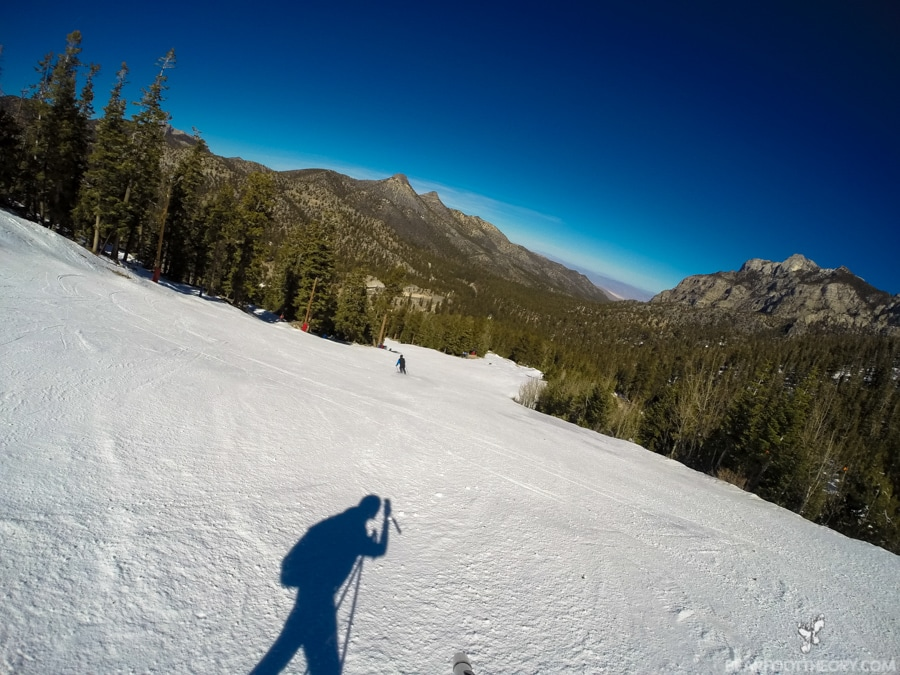 Jack's Run at Las Vegas Ski and Snowboard Resort - 40 minutes from the Vegas Strip
