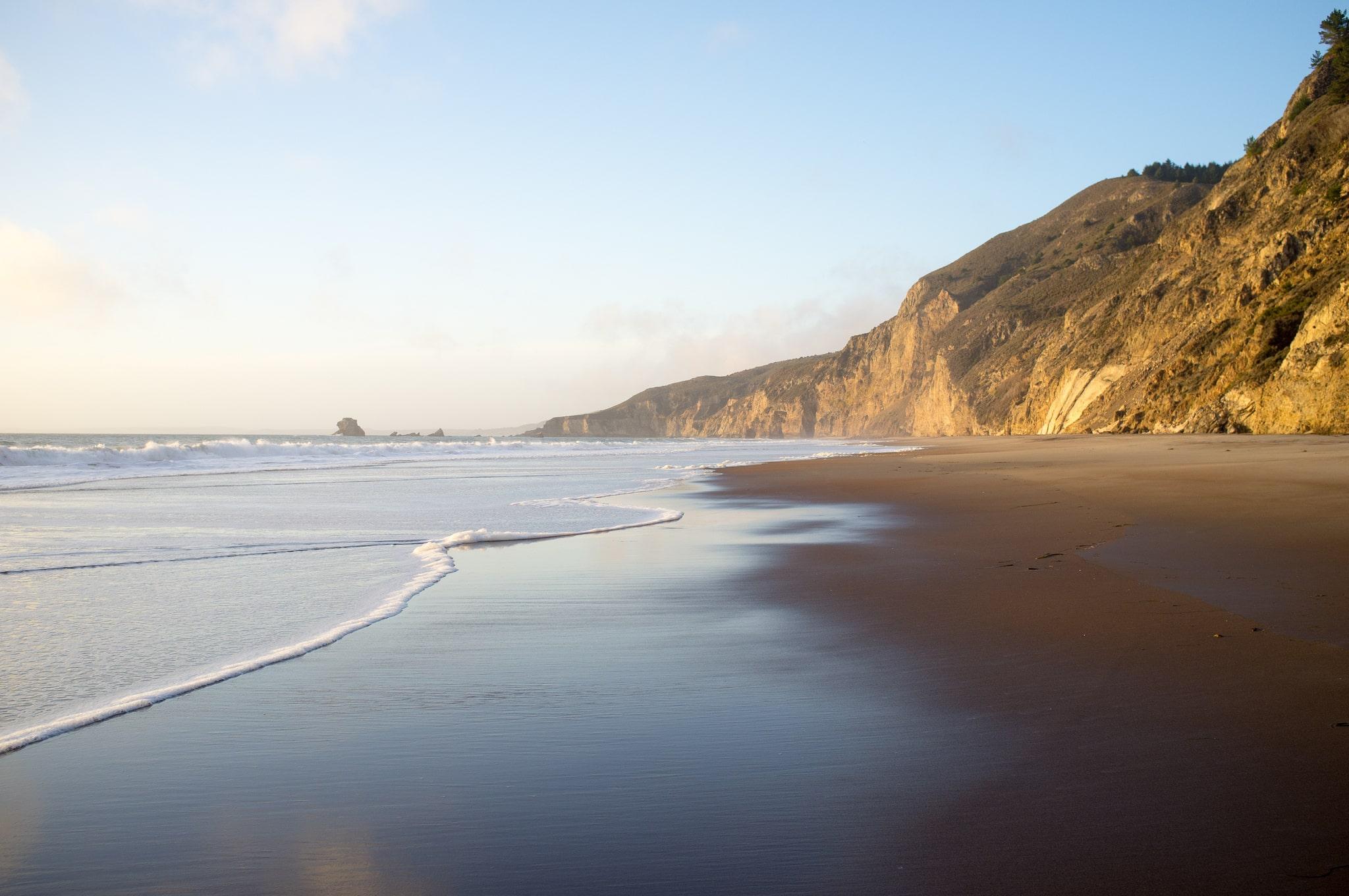 Best walk up campsites in California: Wildcat Beach at Point Reyes National Seashore