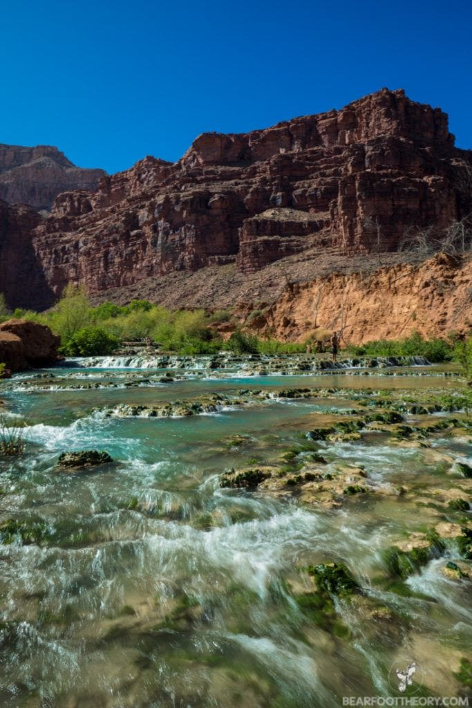 The 5 Waterfalls of Havasu Canyon on Arizona's Havasupai Indian Reservation