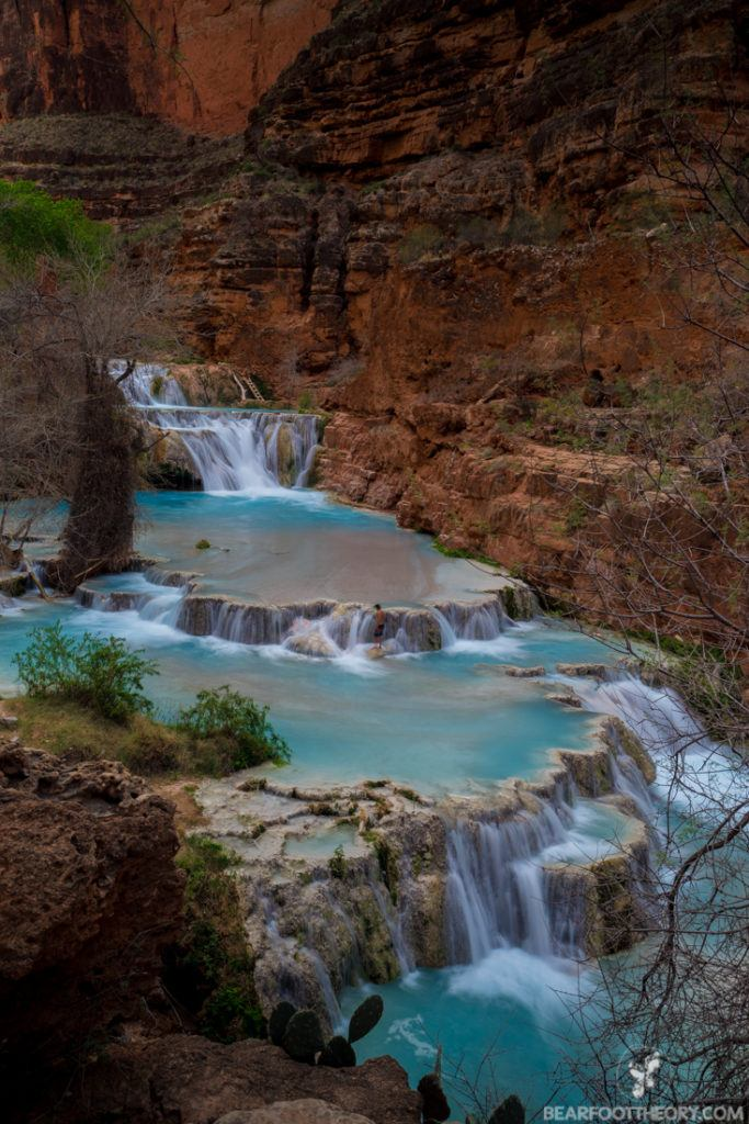 Beaver Falls in Havasu Canyon on the Havasupai Indian Reservation