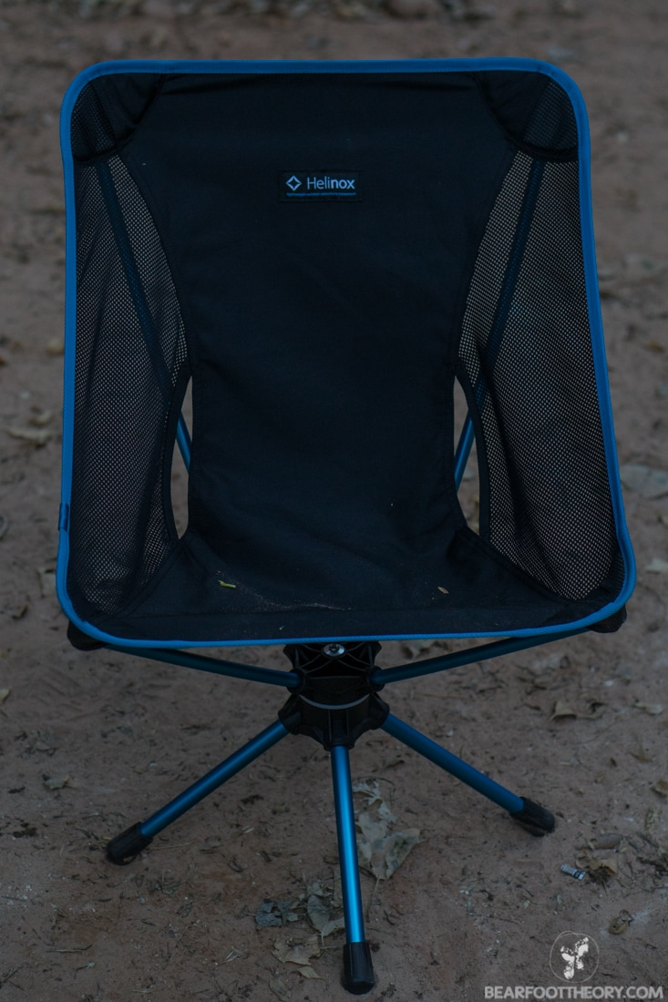 Camping In Comfort With The Big Agnes Helinox Swivel Chair
