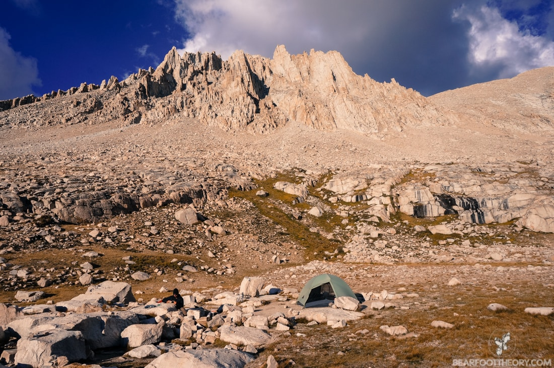 John Muir Trail Trip Report: Camping Below Mt. Whitney