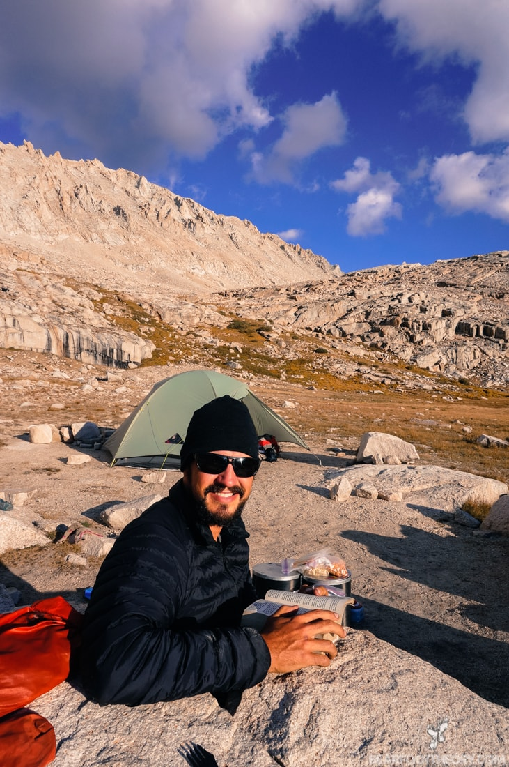 John Muir Trail Trip Report: Camping below Mt. Whitney