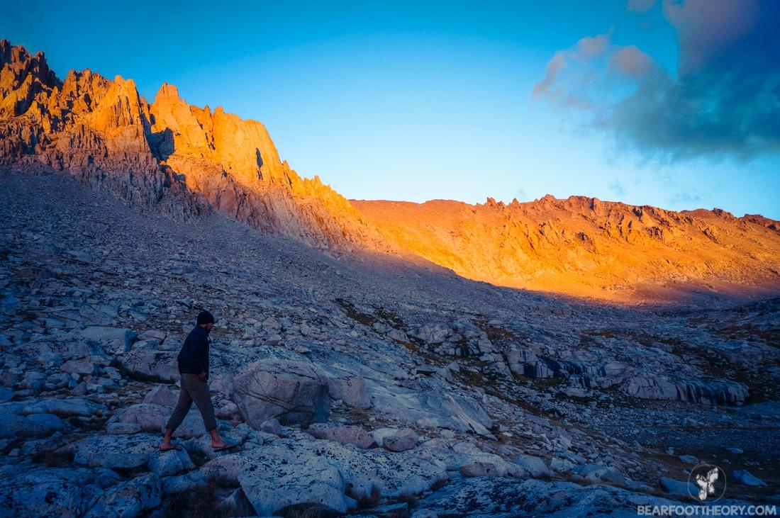 John Muir Trail Trip Report: Sierra Alpenglow