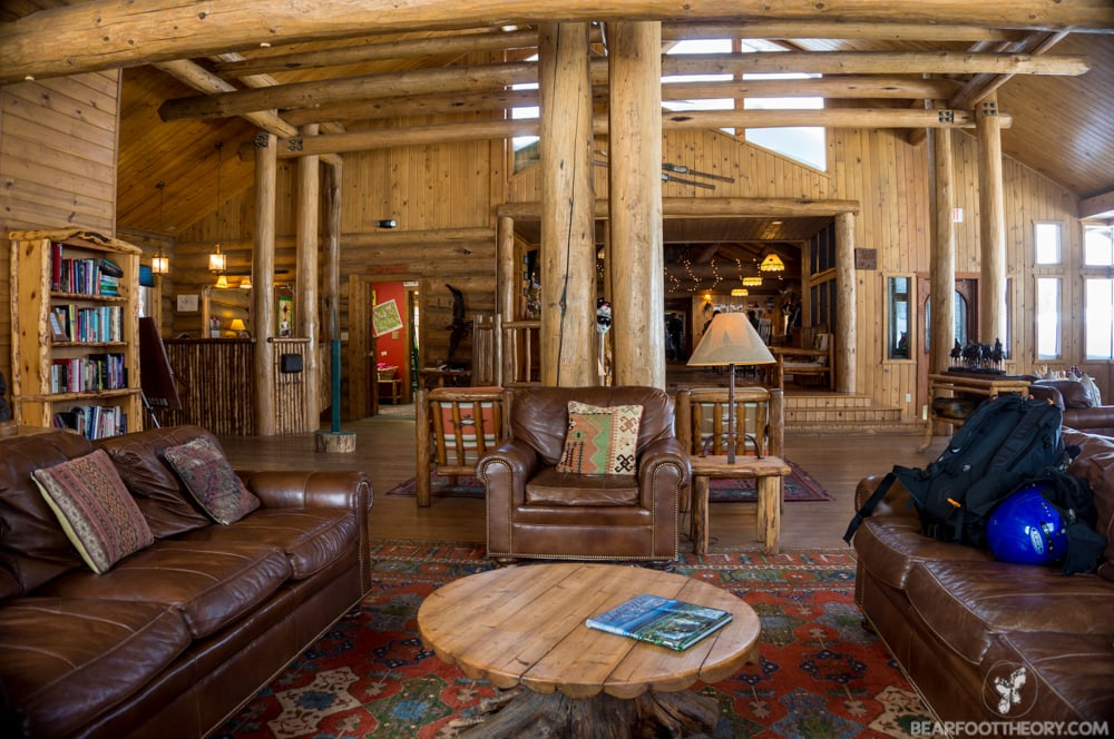Brooks Lake Lodge on the Continental Divide in Wyoming