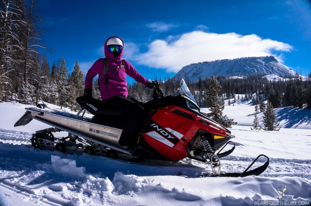 Togwotee Mountain Lodge: Snowmobiling through Wyoming's Backcountry