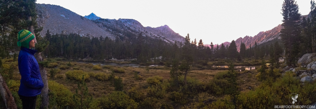 John Muir Trail Trip Report: Center Creek Basin Camp