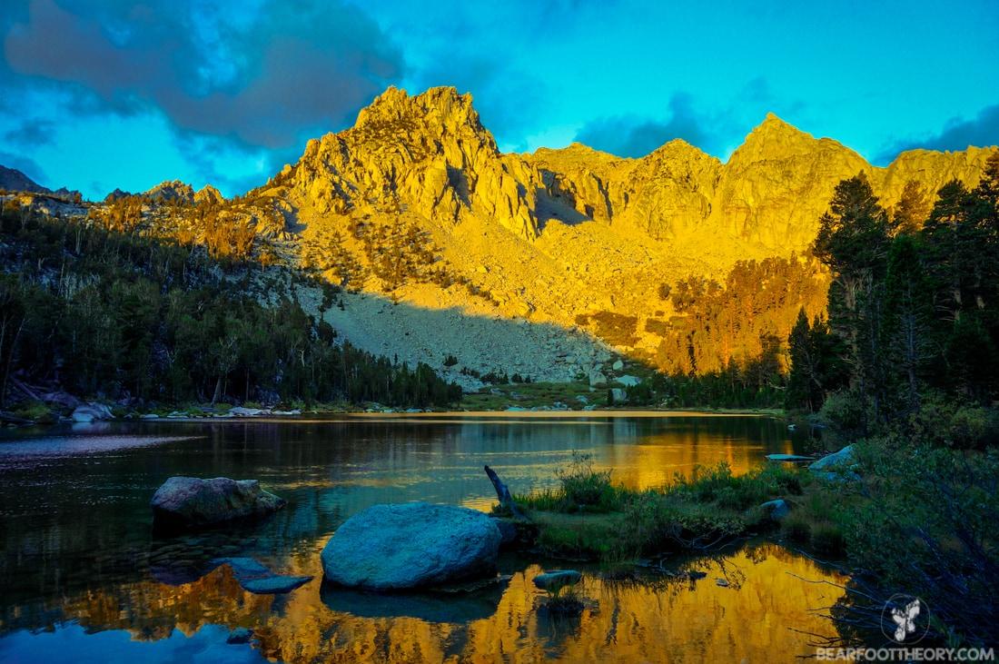 John Muir Trail Trip Report: Flower Lake