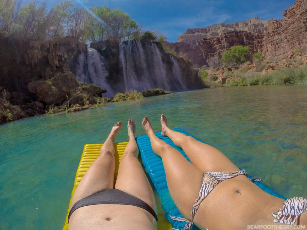 Fifty Foot Falls in Havasu Canyon on the Havasupai Indian Reservation