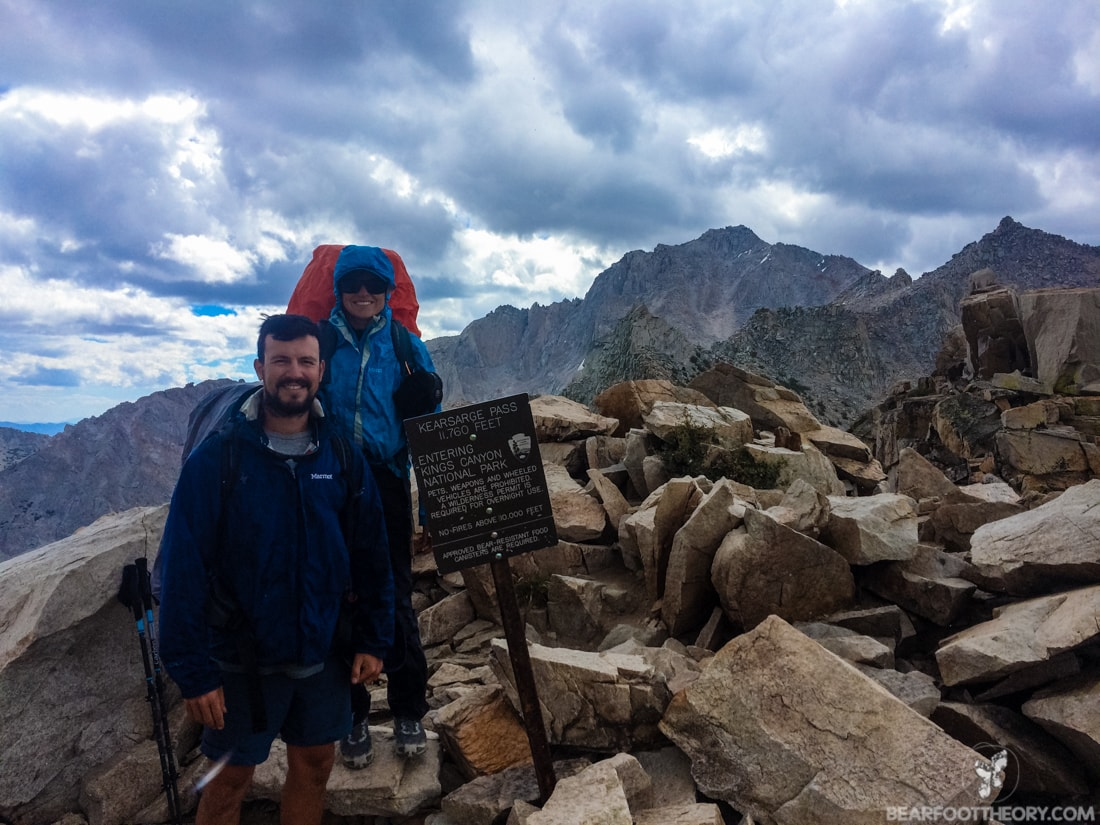John Muir Trail Trip Report: The top of Kearsarge Pass