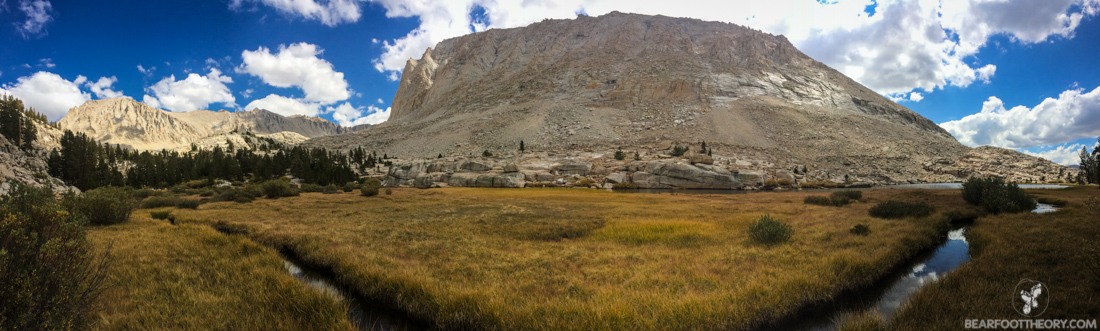John Muir Trail Trip Report: Approaching Guitar Lake