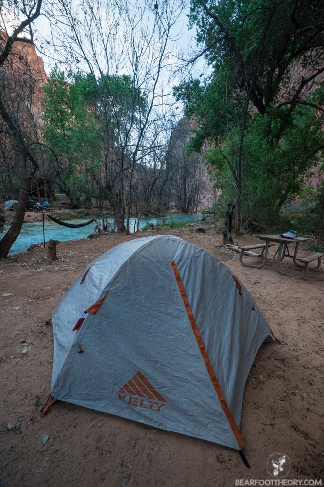 Havasu Falls Camping Guide // A complete travel guide to a one-of-a-kind Havasu Falls camping experience with everything you need to know about the trail, permits, campground, & gear.