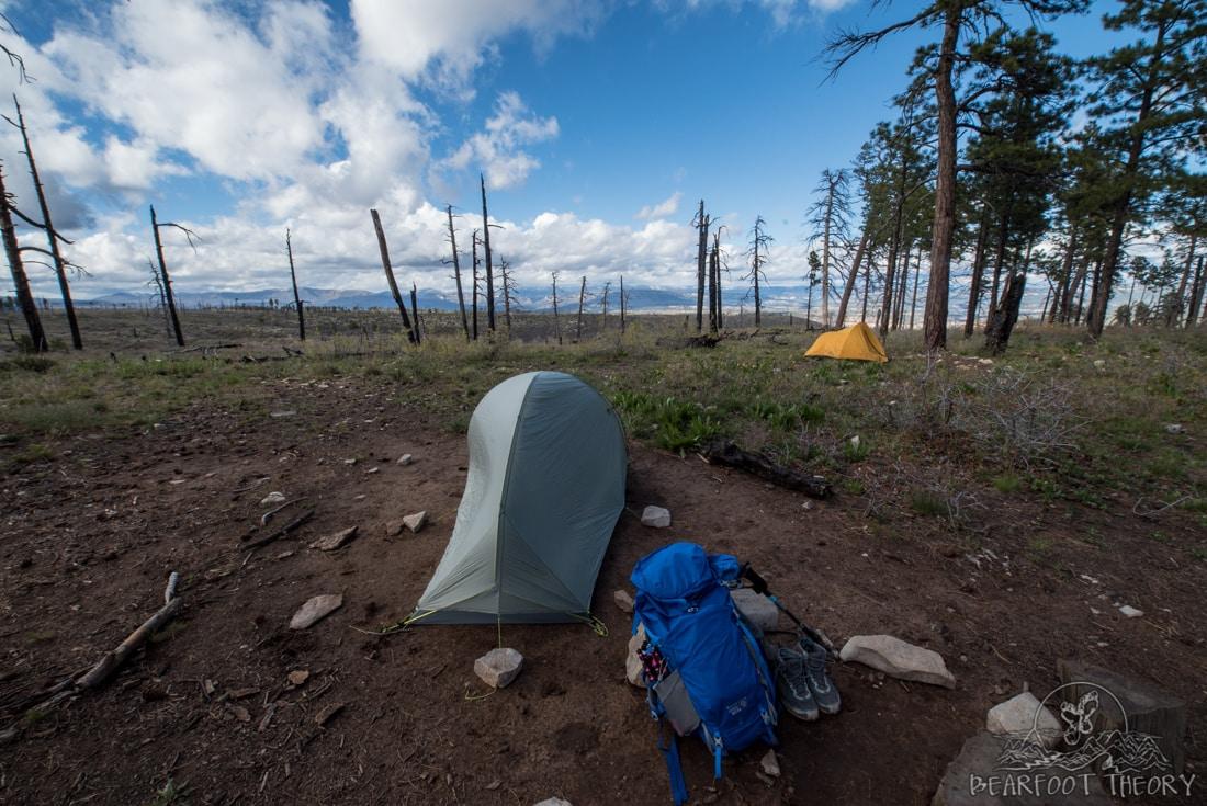 Mountain Hardwear Ozonic Pack and SuperMega UL 2 tent