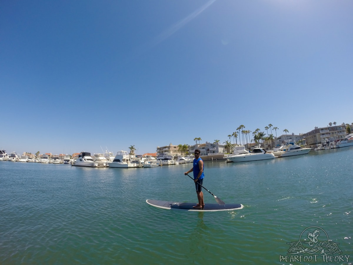 Stand up paddle boarding tips from a pro