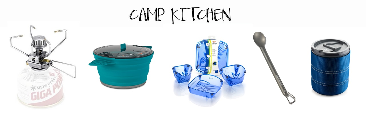 The Best Lightweight Backpacking Gear - Camp Kitchen Essentials