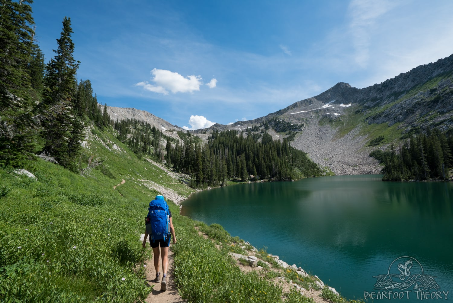 Backpacking and Hiking Guide to Salt Lake City's Red Pine Lake