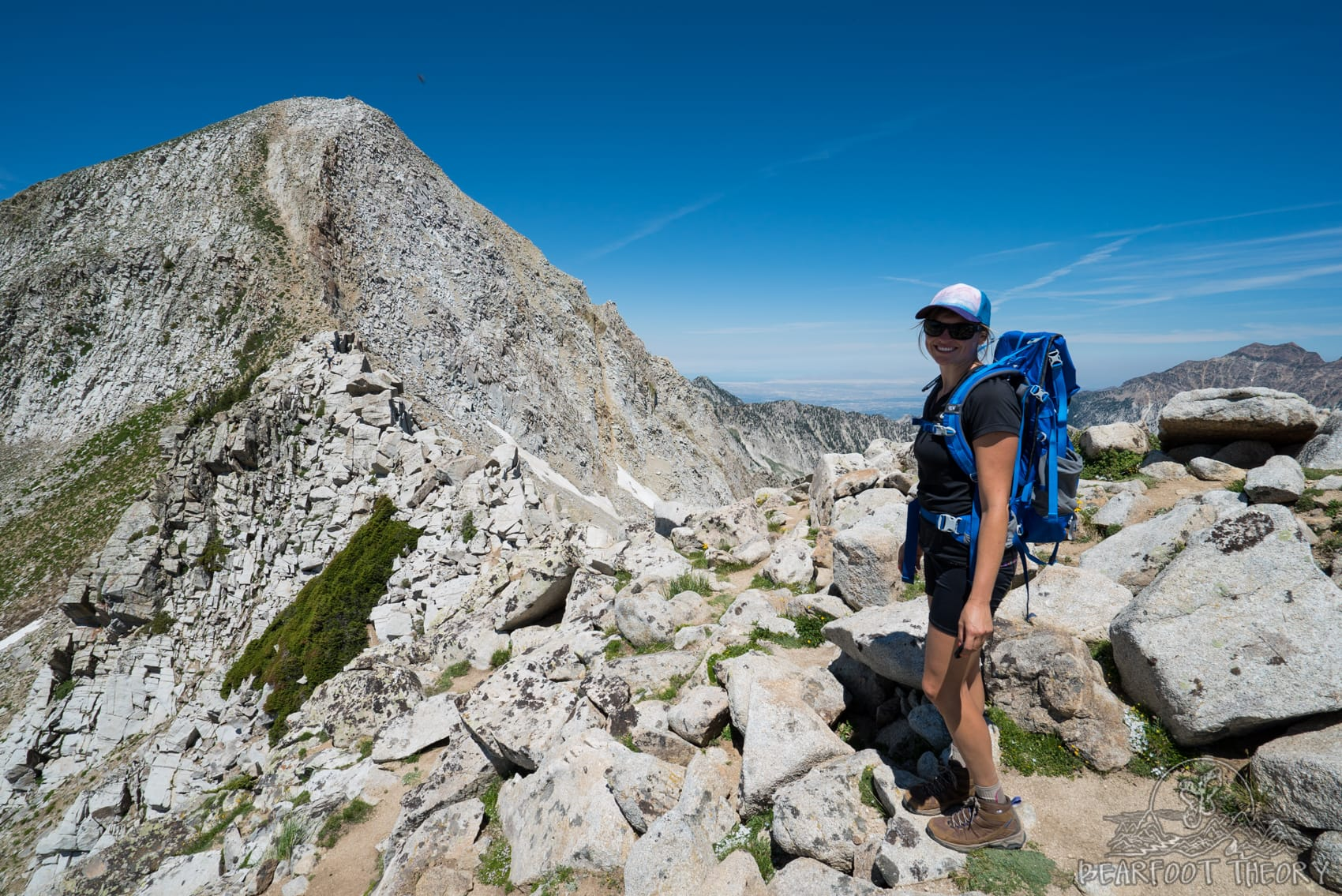 Climbing the Pfeifferhorn, the third tallest peak near Salt Lake City