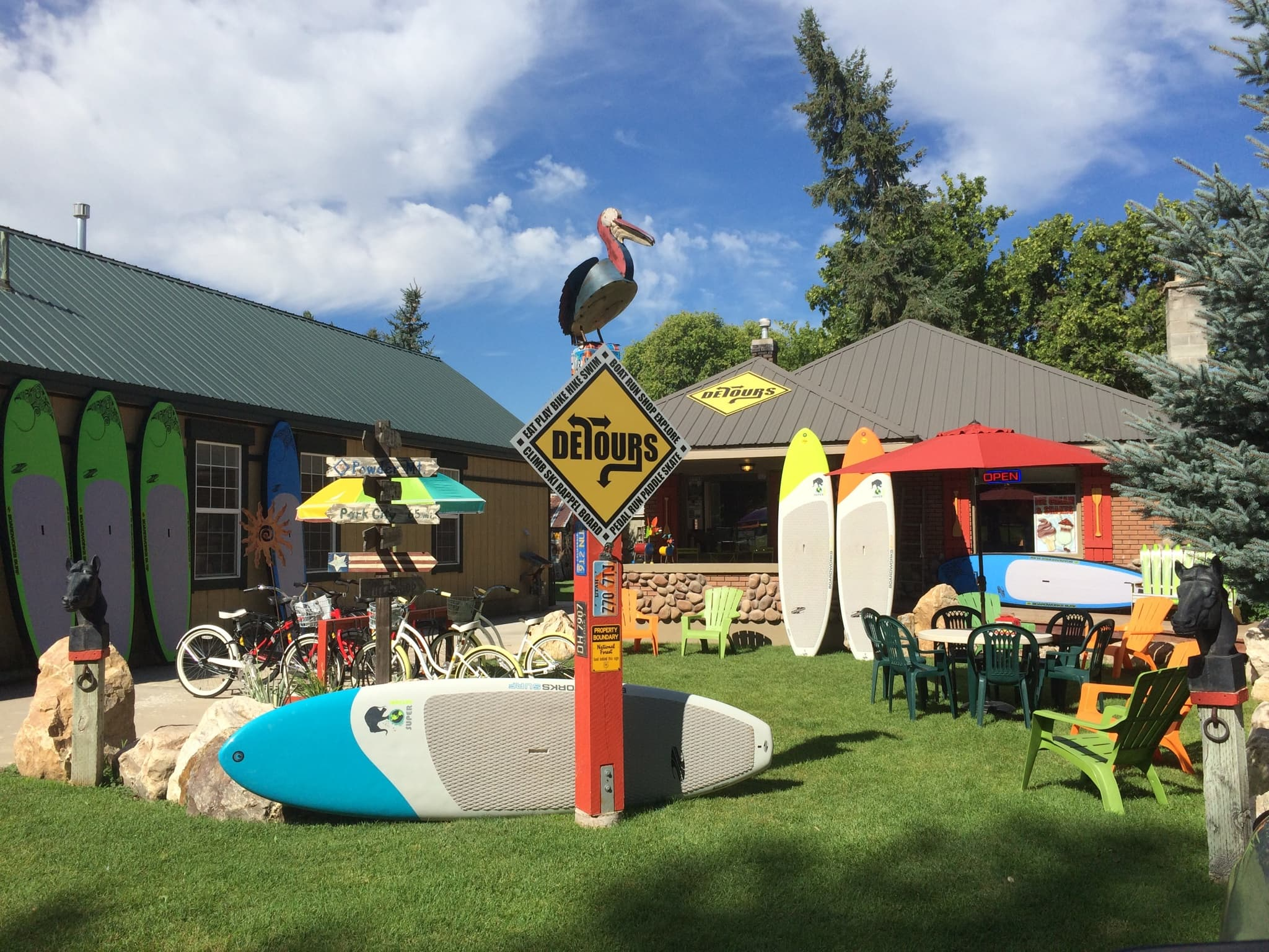 Detours Utah - a Stand-up Paddle Boarding rental shop in Huntsville near the Causey Reservoir