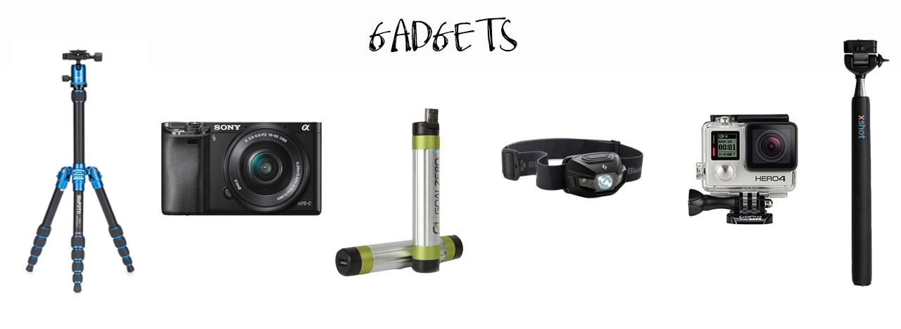 The Best Lightweight Backpacking Gear - Cameras and other gadgets