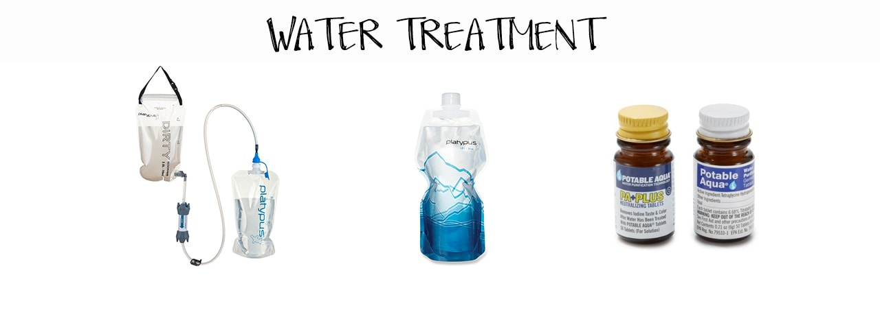 The Best Lightweight Backpacking Gear - Water Treatment