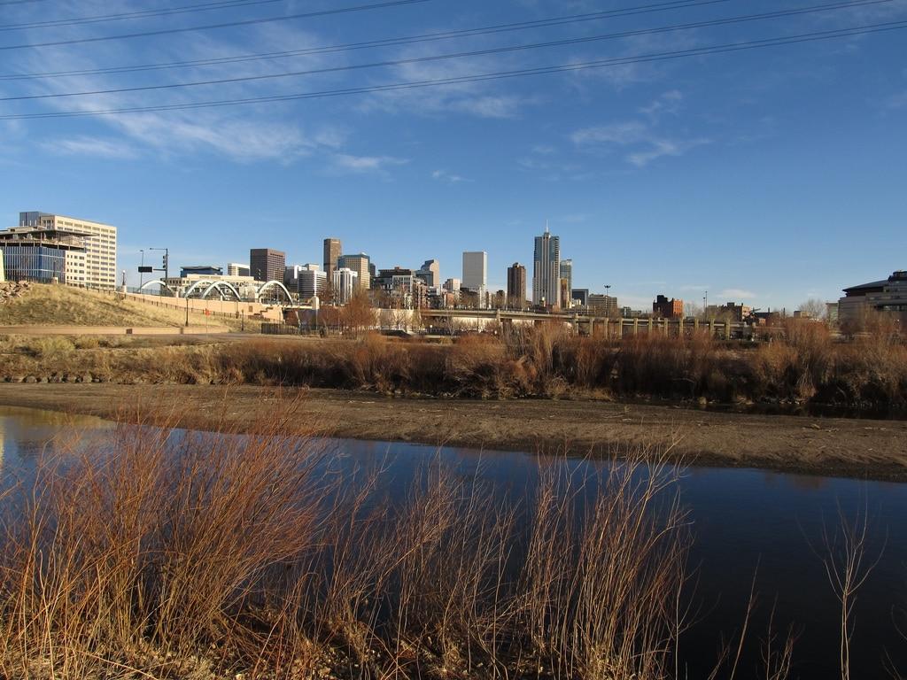 Cherry Creek Trail in downtown Denver